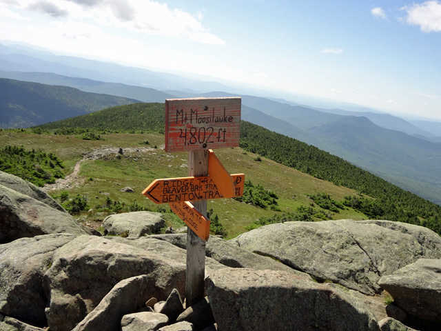 Mt. Moosilauke Summit