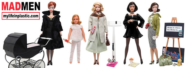 FacebookTimeline Mad Men Dolls