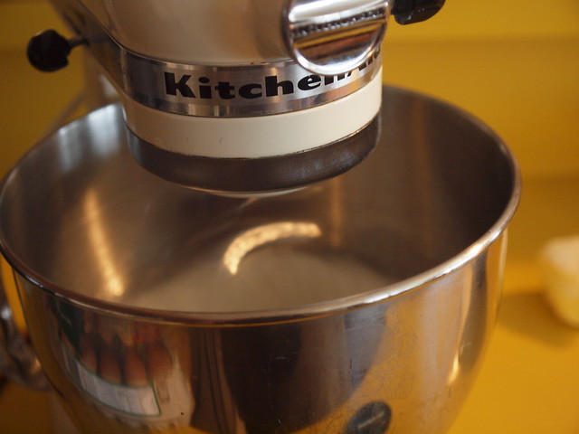 egg whites in the kitchen aid