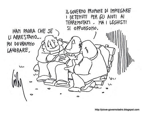 Inchiesta Lega e Terremoto by Livio Bonino