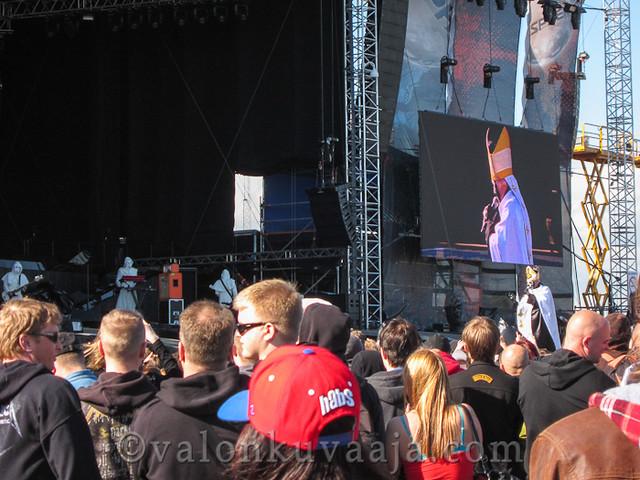Ghost | Sonisphere Finland 4.6.2012, Helsinki.