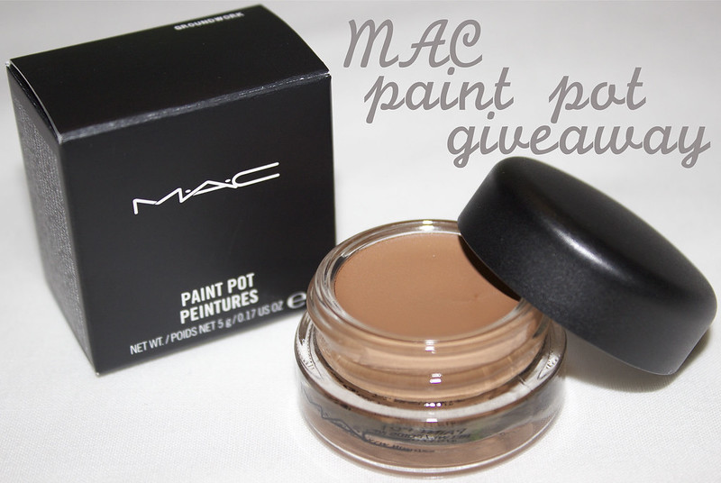 mac paint pot giveaway