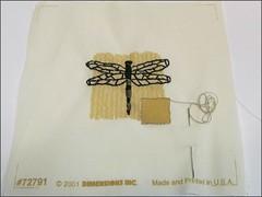 Oriental Dragonfly WIP