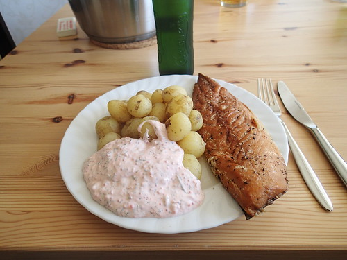Mackerel and potatoes