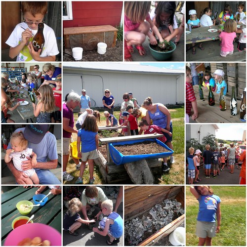 Kids in the Garden - Week 2 Mosaic