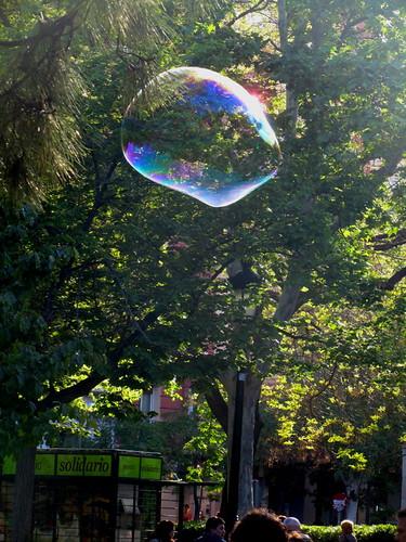 Una gigantesca Burbuja