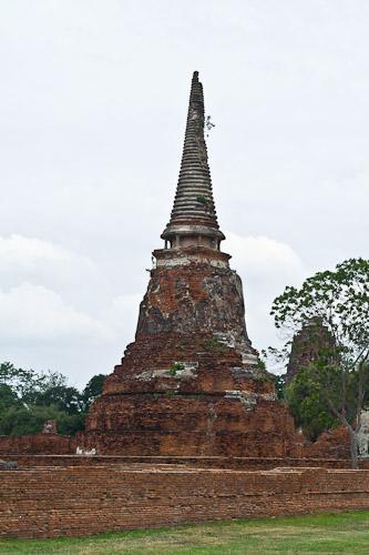 Ayutthaya stupa