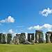 Postcard shot of Stonehenge