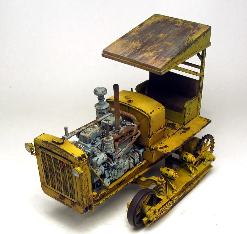 peinture - Russian ChTZ S-65 Tractor 1/35 Trumpeter (peinture vert russe) - Page 3 7447415578_1e4903ca83_b