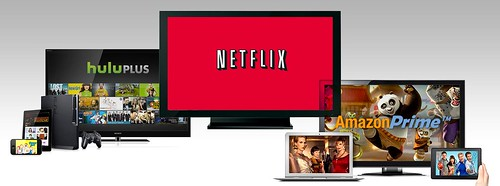 Netflix vs. Amazon Prime vs. Hulu Plus [comparison]