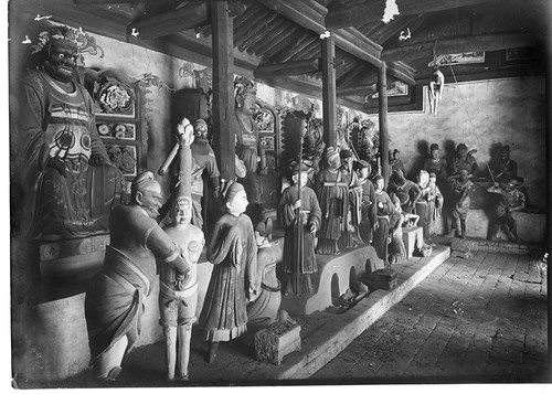 China, Miscellaneous Scenes: Representation of Buddhist hell in the Lung-wang Miao at Yan'an, Shaanxi