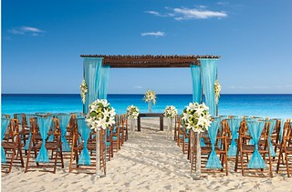Secrets Resort Beach Weddings