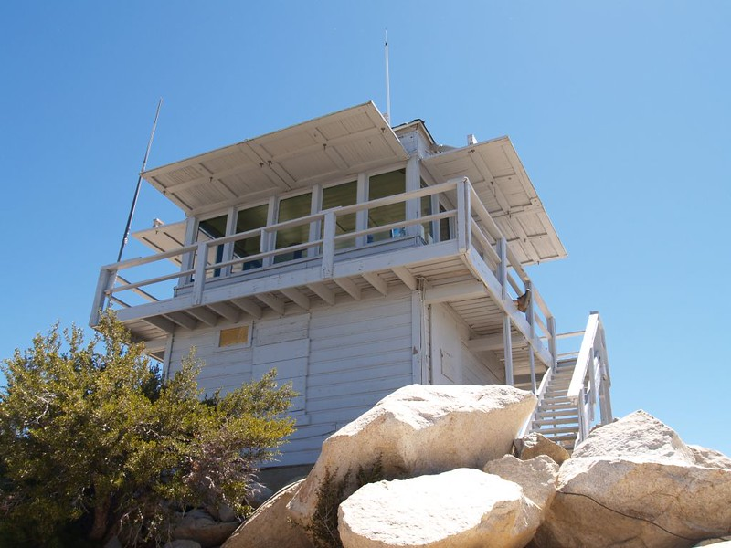 Tahquitz Peak Fire Lookout Tower