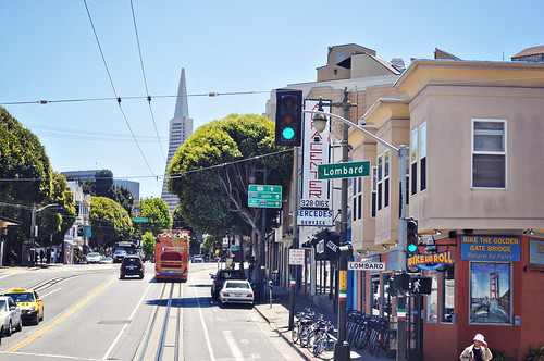 Lombard Street ~ San FRancisco, CA