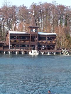 Héviz thermal lake Spa