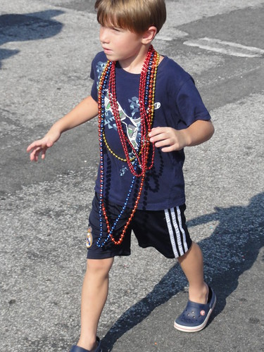 One of many children at Saint Pete Pride