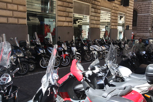 Scooters in Naples
