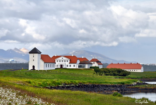 The Official Icelandic Presidential Election, 2012 is Over - Bessastaðir residence of the President of Iceland
