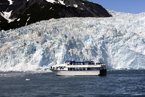 Aialik Glacier by RV Bob