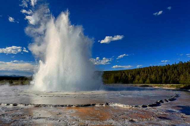 Great Fountain Geyser Flickr Photo Sharing