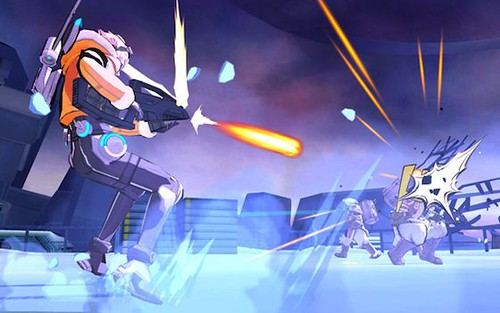 Capcom Demos E.X. Troopers' Multiplayer