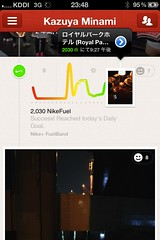 Nike+ Fuelband & Path integration
