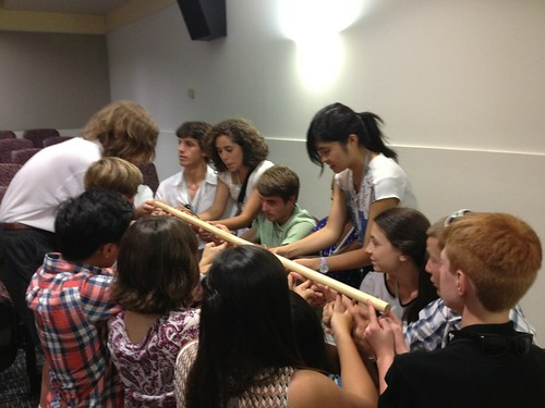 NSLC COMM Students Participate in Leadership Activity