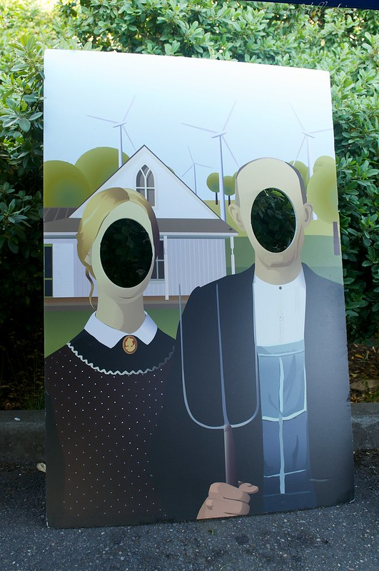 American Gothic ~ Wind Power