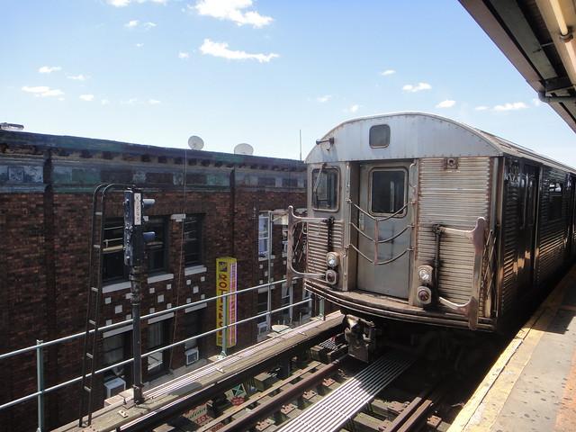 Subway train nyc video