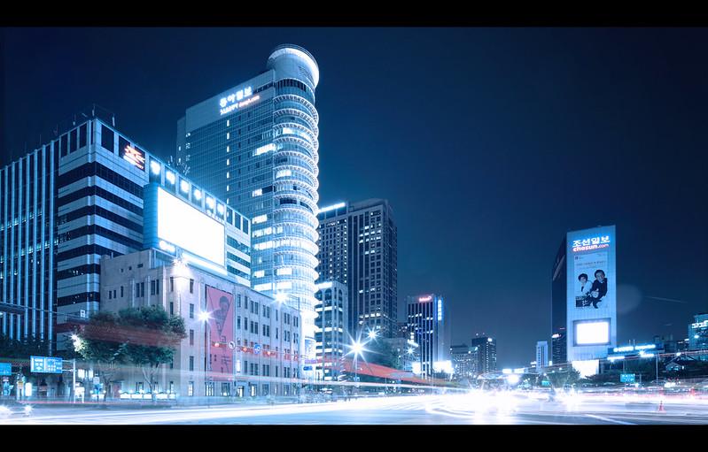 Seoul Traffic.