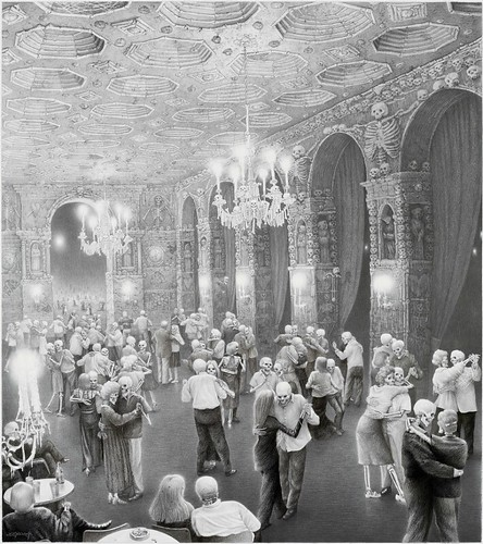 Laurie Lipton, Dance Hall of the Corpse Couples, 2007