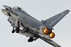 RAF Typhoon Demo Sqn Leader Scott