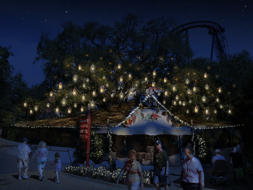 Busch Gardens Tampa Details Christmas Town Celebration Transforming The Entire Theme Park Into