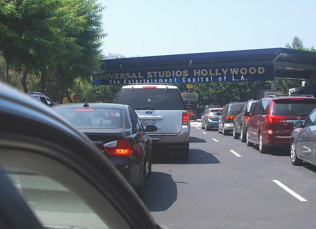 Universal studios, въезд