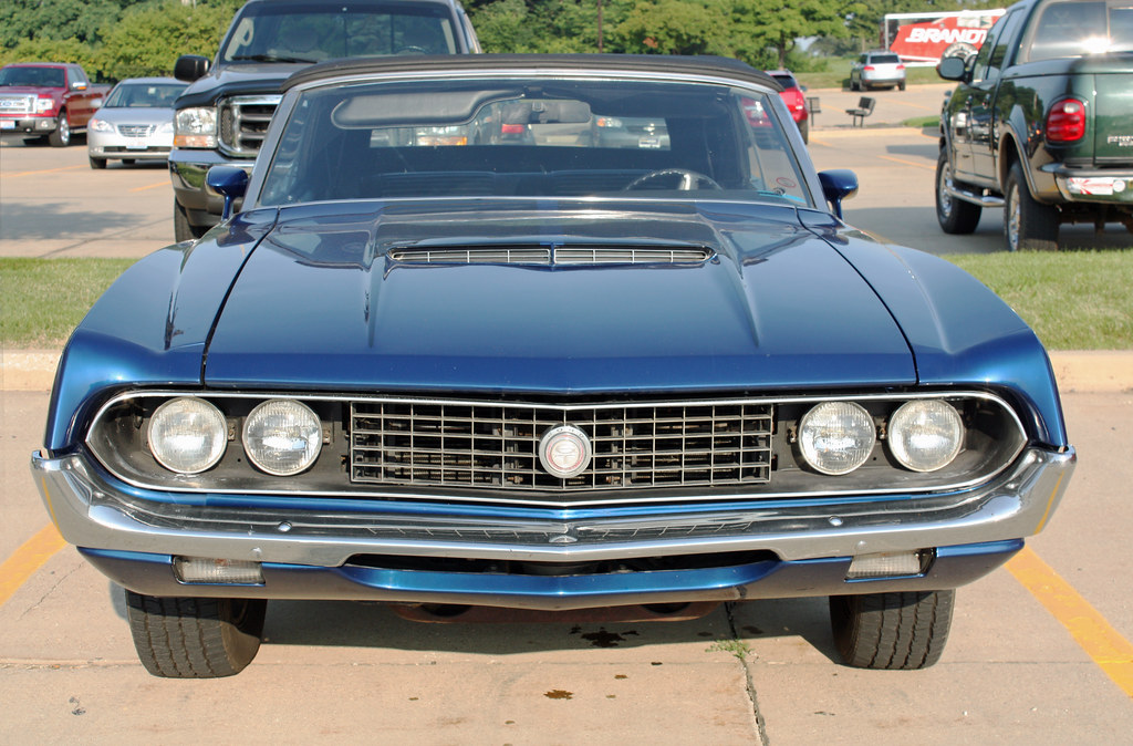 1970 Ford Torino GT Convertible (1 of 5) | Photographed at t