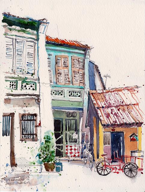 Shophouses @ Armenian Street