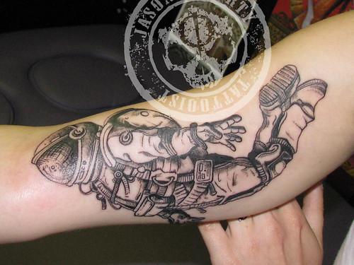 Astronaut Tattoo.