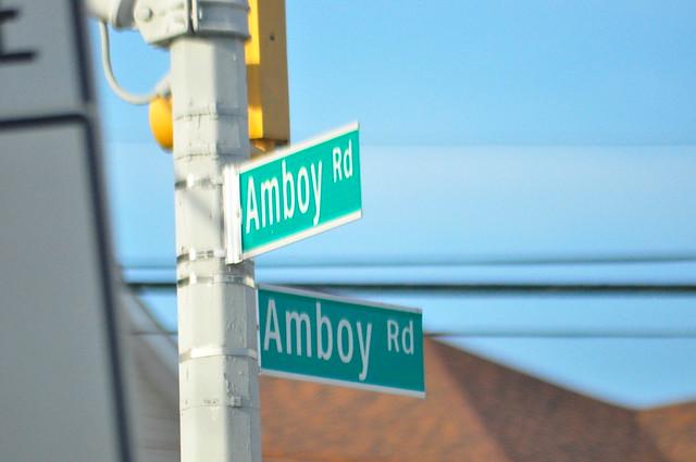 Amboy Road and Amboy Road