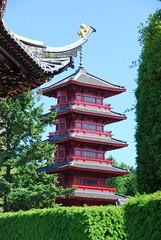La tour japonaise -The Japanese Tower(Brussels)