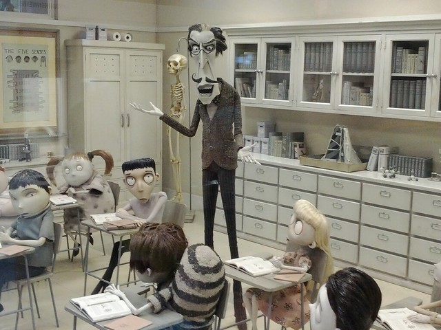 Frankenweenie classroom
