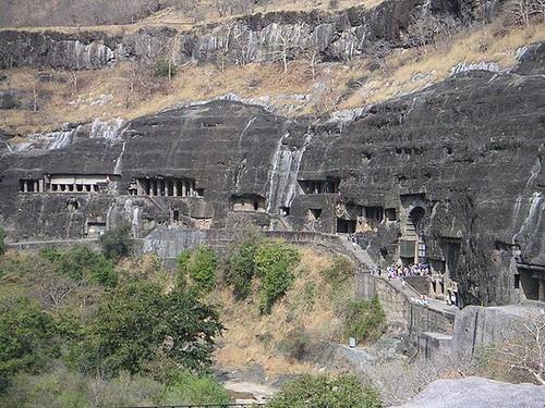 Ajanta Caves Maharashtra (India).