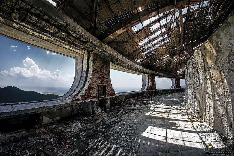 Abandoned Communist UFO