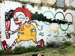 Olympics celebration of capitalism