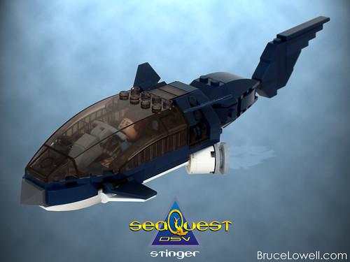 LEGO SeaQuest DSV Stinger