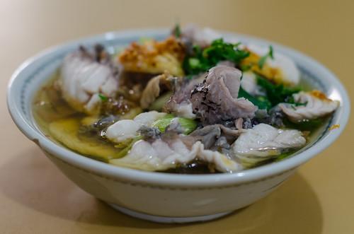 indonesia raw pontianak localfood napoleonfish fishporridge westkalimantan nikkor50mm14f nikond7000 ahian yemaria localculinary buburikanteochew huemue wrsupratman