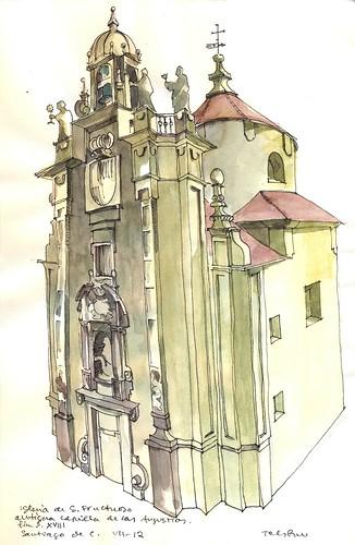 Iglesia de San Fructuoso. Santiago de C.