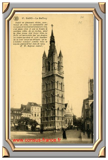17. GAND - Le Beffroy -70-150
