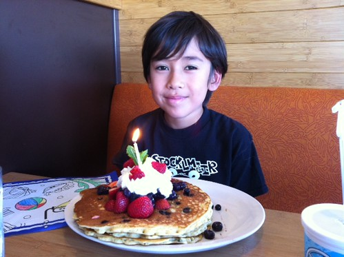 Nico's 10th birthday brunch