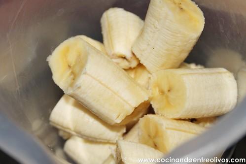 Trenzas hojaldradas de chocolate y plátano (2)