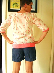 Roundabout Blouse back